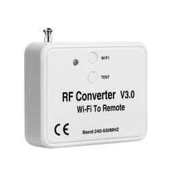 433の868の2.4Gオートメーションのドアアクセスリモート・コントロールRF WiFi Converver WiFi制御