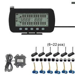 8つの車輪のトレーラトラック交換TPMSの内部および外部センサー