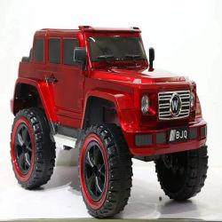 Ruedas grandes mayorista juguete eléctrico de los niños con dos plazas/ Control remoto de la batería de 4X4 coche para niños KC-01