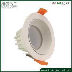 il soffitto messo anabbagliante rotondo Downlight LED dell'indicatore luminoso di soffitto di serie SMD della famiglia di 5W- 30W 220V giù si illumina per il progetto