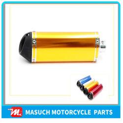 pièces de rechange de moto Moto de couleur différente du tuyau de silencieux