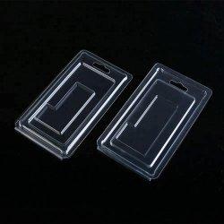 플라스틱 조가비 상자를 접히는 주문 투명한 어업 유혹 두 배 물집