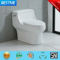 Depósito de corto Siphonic diseño una pieza de cerámica wc con doble enjuague Bc-5134A