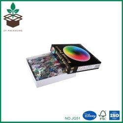 La vendita calda personalizzata collega i puzzle variopinti di plastica del puzzle