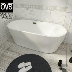 Белой акриловой лучший прозрачный есть ванна в ванной комнате (BJ6061)