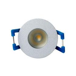 Simva estándar IP65 Carcasa resistente al agua los Downlights LED empotrable de Cristal de luz regulable Spotlight Spot Mini 12v Downlight LED