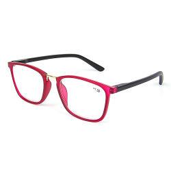 La moda de plástico barato Diseño de Moda retro Ojo de Gato gafas de lectura