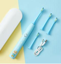 Disegno animale variopinto tutta la cura per il Toothbrush orale dei bambini dei capretti