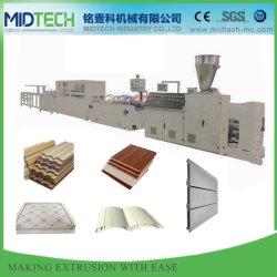 PVC plástico automática/WPC techo/pared de instrumentos (10m) /Panel de puerta/ventana/Cantos Cordón de la esquina//Piso/Cable disparador de rodillo/máquina de hacer el perfil de Trunking