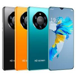 الهواتف الذكية Mate40 PRO مقاس 6.5 بوصة دع الهواتف الخلوية خمسة كاميرات هاتف Android هاتف محمول مزدوج SIM سعة 2 جيجابايت و32 جيجابايت