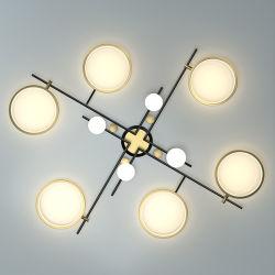 Lámpara de araña de gama alta Lámpara de techo lámpara colgante lámpara Hotel Luz de sala