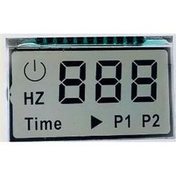 Angolo di visualizzazione completo OEM Small Tn HTN STN STN personalizzato Display LCD indicatore a 7 segmenti