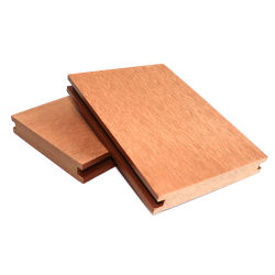 Piscina al aire libre antideslizante resistente al agua de bajo mantenimiento, suelos de madera laminada de WPC junta de espuma Co-Extrusion WPC