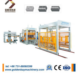 Vuoto concreto del cemento completamente automatico Qt8-15 \ solido \ macchina per fabbricare i mattoni \ blocco automatico lavorare \ macchinario del blocco
