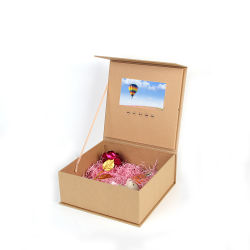 Creative Caixa de vídeo Video cartões de Casamento Convite Brochura Vídeo Square Caixa de oferta