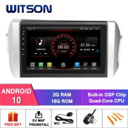 Android Witson 10 aluguer de DVD de navegação Toyoya Innova (LHD)