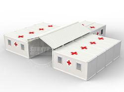 2020 dringend benötigtes modulares kundenspezifisches Behälter-bewegliches vorfabriziertkrankenhaus/Klinik