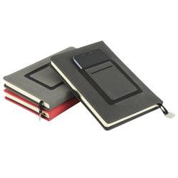 Bloc de notas de cuero de PU Cubierta frontal con el teléfono portátil de bolsillo oficial