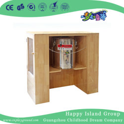 Registro de preescolar de taza de té de madera Estante para niños (HJ-4302)