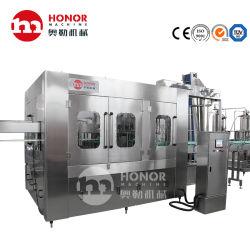 Boisson Machine de remplissage de gaz adopte le fonctionnement de l'interface homme machine avancé et PLC fonction de contrôle automatique