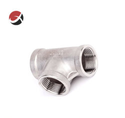Precisione femminile dell'accessorio per tubi dell'acciaio inossidabile di fabbricazione che lancia T uguale