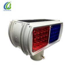 Luz estroboscópica Solar Testigo de la carretera 4 LED Lámpara de flash