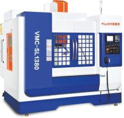 X-as Slag 1300mm het Verticale Machinaal bewerkende Centrum Fanuc van de Hoge snelheid/CNC van het Systeem van Mitsubishi Werktuigmachines voor de Delen van het Metaal van de Hardware (vmc-SL1380)