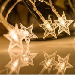 좋은 품질의 파티 장식 LED 크리스마스 배터리 조명 체인