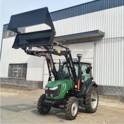 Канада горячая продажа dq704A 70HP 4X4 4WD AC кабина сельскохозяйственной фермы колес трактора с Tz08d быстродействующее сцепное устройство типа 4в1 передней подвески ковша погрузчика
