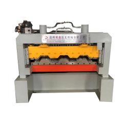 لوح الأرضية الصلب منصة الإسطوانات ماكينة صناعة الإسطوانات/منصة الأرضية المعدنية تشكيل الماكينة