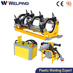 160 제조지 중국 공장 가격 유압 Fusion 용접 장비 민간 도시 Municipal을 위한 PPR HDPE 파이프 핫 멜트 버트 용접기 엔지니어링