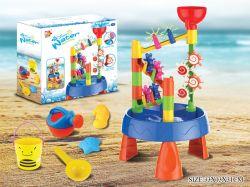 32PCS 여름 물과 모래 바닷가 장난감은 아이를 위해 놓았다