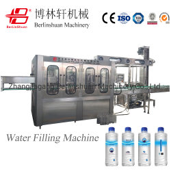 Remplir la bouteille PET pur l'eau minérale Eau de boisson de jus de l'eau douce potable/Soda le ressort de l'eau de lavage automatique complet de remplissage et de l'embouteillage Capping Machine 3 en 1
