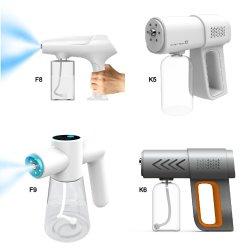 OEM Elektrische Beschlag Maschine Wiederaufladbare Sprayer Sterilizer K5 Nano Spray Pistole F8