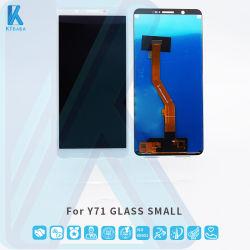 携帯電話タッチ LCD オリジナル品質携帯用 LCD 電話画面 Vivo Y71 ガラス小用