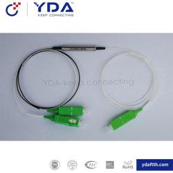 FTTH Fwdm 1x2 Ports WDM 1310nm 1490nm 1550nm Micro-Optical Fwdm 광섬유 컨버터