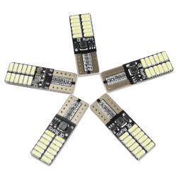 차량용 12V LED 전구 T10 4014 24SMD CANbus CE RoHS