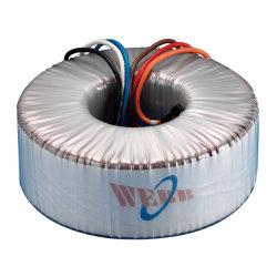 音声、照明、医学のEuqipment 30vaの電源変圧器のための高性能の単一フェーズの円環形状の変圧器
