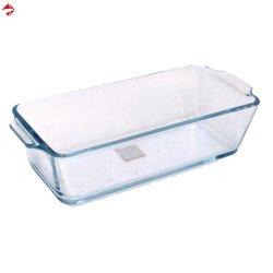 Дешевые стекла глубокую прямоугольные Бейкер для пирога/Пицца/графике/Cookie/срез