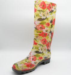 De Rubberlaarzen van de Manier van Boots&Lady van de Regen van pvc van de Jonge geitjes van de Rubberlaarzen van de veiligheid