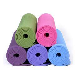 De opblaasbare Afgedrukte Mat van de Yoga van pvc van EVA Rubber In het groot