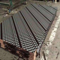 Shuttering Verschalung-Baumaterial-Innenmelamin-Umweltschutz-Pappel-Film stellte Furnierholz für Aufbau gegenüber