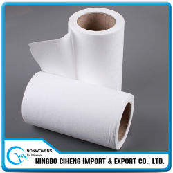 Papel No Tejido Rolls de Filtro de Aire del Coche del Blanco HEPA de los PP del Fabricante de China