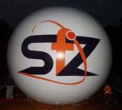 2019 Nueva publicidad inflables globos de helio ronda