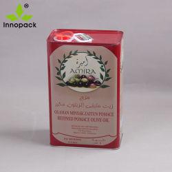 Food Grade 5 Литр растительного масла металлического олова пакет может