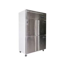 상한 호텔 대중음식점에 세륨 기준 4 문 스테인리스 상업적인 냉장고
