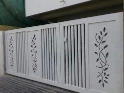 メインゲートレーザーの切断スクリーンのスライド・ゲートのスラットの塀レーザーの切口の網戸