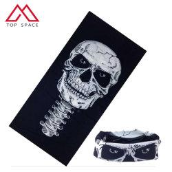 Buff crâne multifonction transparente Outdoor Sports coiffure cou tube Bandana