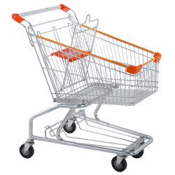 Despliegue de estilo americano, a las 4 ruedas carrito de supermercado