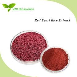 جودة عالية معتمدة من قبل ISO 100% من مستخلص الأرز الطبيعي الأحمر الخميرة للوقاية من مرض القلب